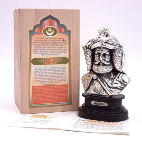 KUKA Collection - FIGURE SULTAN MURAD IV - SILVER PLATED LIMITED EDITION