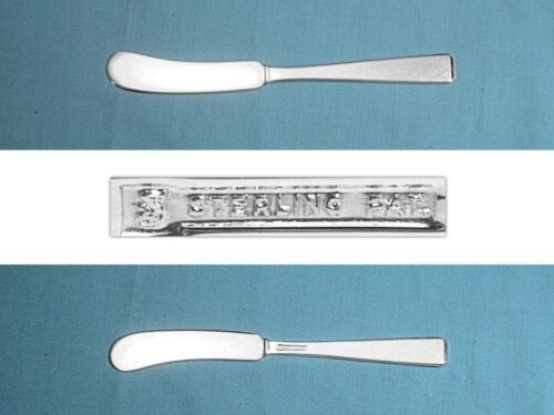 "TOWLE STERLING 6"" FLAT HANDLE BUTTER SPREADER(S) ~ CRAFTSMAN ~ NO MONO"