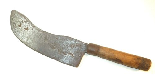 NICE 18TH CENTURY WHALER'S LARGE FLENSING KNIFE