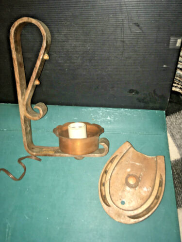 VINTAGE Horseshoe Style Fixture-As Is Salvage-From Nashville Printer's Alley Bar