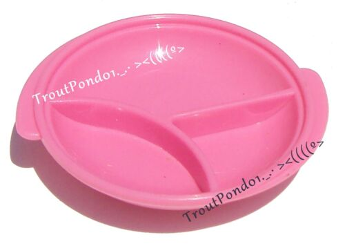 Tupperware Magnet Gadget Miniature Divided Dish in Pink Vintage New