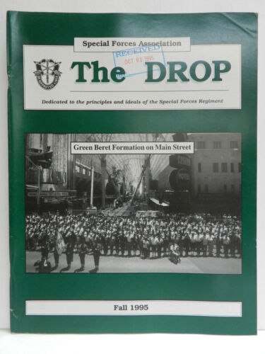 """""""GREEN BERET"""" THE DROP MAGAZINE, FALL 1995 ISSUE, SPECIAL FORCES ASSOCIATIONPrice Guides & Publications - 171192"""