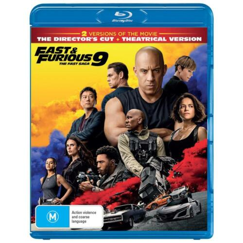 FAST And FURIOUS 9 : The Fast Saga : NEW Blu-Ray
