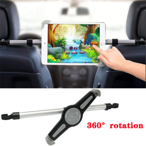 """Universal Car Back Seat Holder Mount Headrest 360° For iPhone iPad Tablet 7-11"""""""