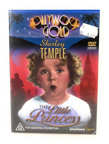 The Little Princess DVD Shirley Temple Region 4 Free Postage