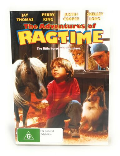 The Adventures Of Ragtime (DVD, 1998) Jay Thomas All Regions Free Postage