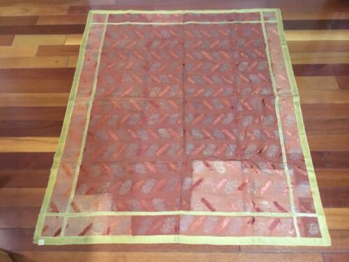 Antique Tapestry Possibly Italian with Tag Dated 1910 & Price of $75 Piano Shawl