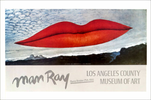 Man Ray The Lovers Observatory Time 1978 Poster Print 16 x 11