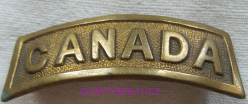 IN20228 - WW1 Canada Shoulder Title Badge