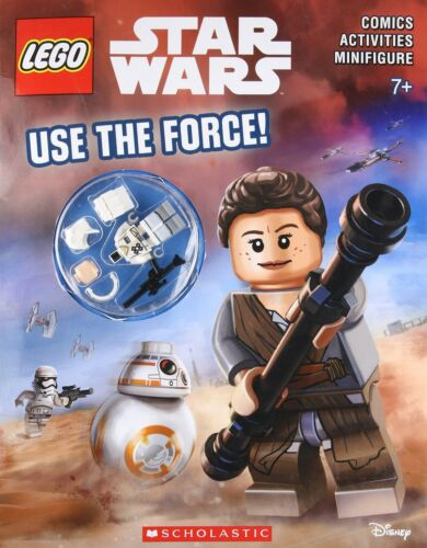 Lego Star Wars: Activity Book Use the Force! Include Rebel Snowtrooper