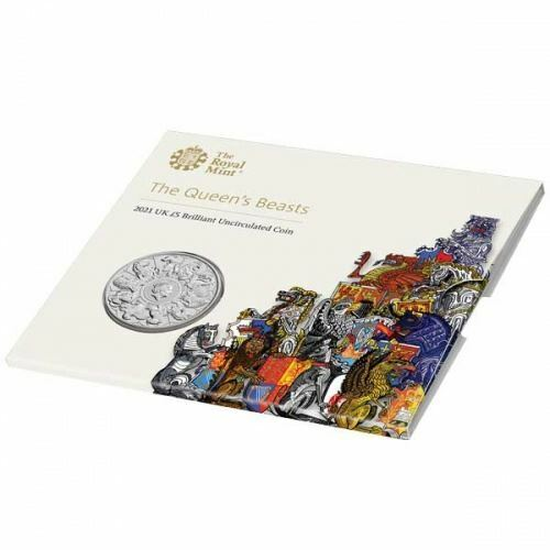 The Queen's Beasts 2021 UK �5 Brilliant Uncirculated Coin