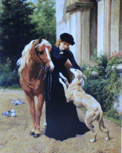 """Lady Greyhound Pony """"Welcome Home"""" by George Holmes"""