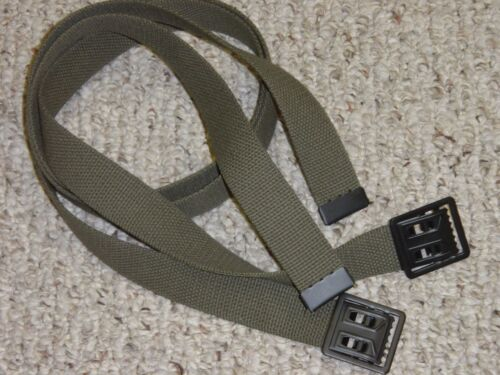 Belt Two Each Army Military USMC Marine OD Web Belts for BDU Uniform Jeans w P38Reproductions - 156470