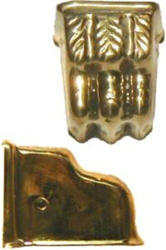 FURNITURE REPAIR STAMPED BRASS CLAWFOOT LEG CAP B2303