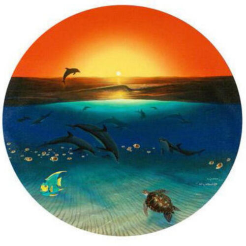 """WYLAND """"WARMTH OF THE SEA"""" S/N GICLEE CANVAS WITH COA"""