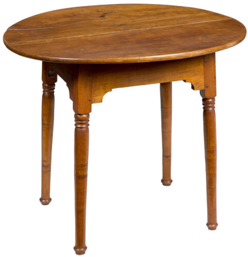 SWC-A Maple Oval Tavern Table, New Hampshire, c.1780