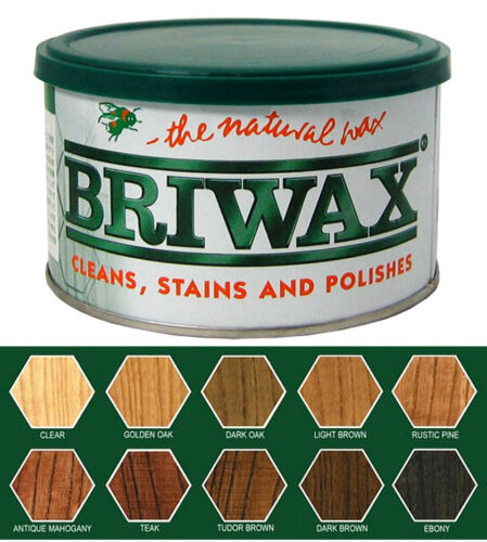 Briwax Original - 1 LB Tin ~ You select from 10 colors