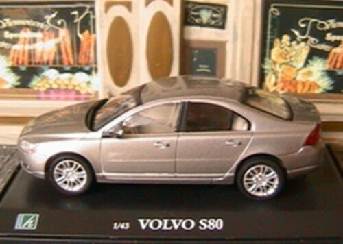 VOITURE VOLVO S80 V6 OLIEX 1/43 GRISE SUEDE SWEDEN NEW GREY CARARAMA