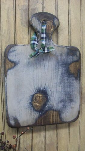 PRIMITIVE Grungy Wood Breadboard -  ANY COLOR