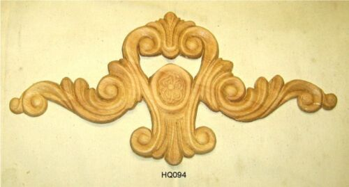 "WOOD EMBOSSED APPLIQUE 5 11/16"" X 11 7/8""  HQ094"