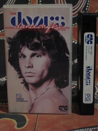 THE DOORS Dance On Fire ~ 1985 Oz PAL VHS Video Tape