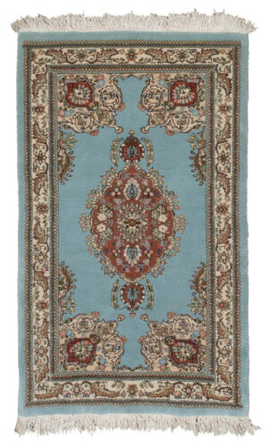 3x5 Oriental DOUBLE SIGNATURE signed Vintage Collector rug 35026
