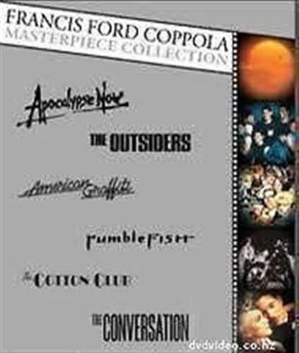FRANCIS FORD COPPOLA Masterpiece Collection: Apocalypse Now + 5 more 6DVD NEW