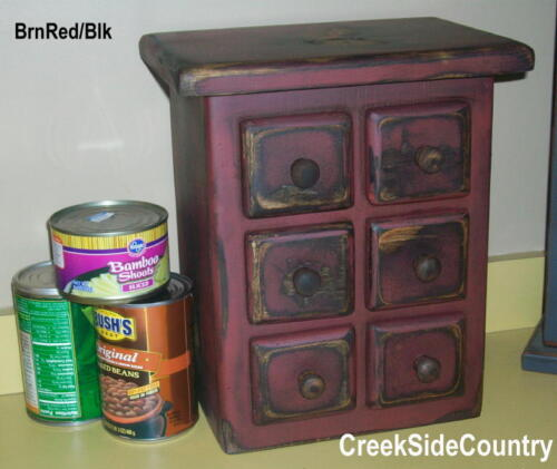 Primitive Wood Can Opener Appliance Cover - any color