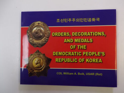 b0139 US published Book  Korea Orders Decorations and Medals R2120Reproductions - 156441