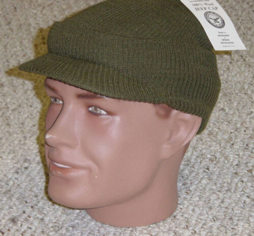 MASH US Army Military USMC Knit Hat Cap NEW Made in USA with P38 Can OpenerUniforms & BDUs - 70988