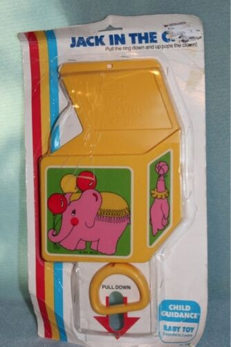 Jack in the Crib Child Guidance Vintage Baby Toy 1981 NEW