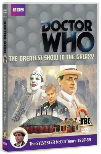 DR WHO 151 1988 GREATEST SHOW in the GALAXY Doctor Sylvestor McCoy R2 DVD not US