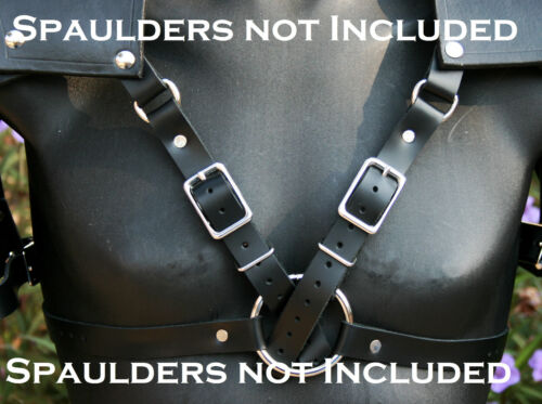 Leather Spaulders Pauldrons Body Harness - Custom made for mine but versatile!Reenactment & Reproductions - 156374