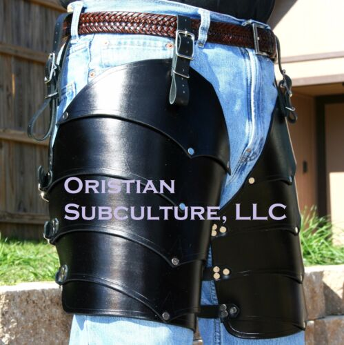 Dragon's Belly Cuisse leg thigh Armor SCA LARP armour Medieval Knight FantasyReenactment & Reproductions - 156374