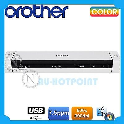 Brother DS-600/DS620 Portable Mobile Color A4 USB Document Scanner USB Bus Power