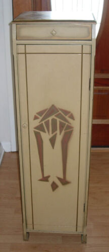 VINTAGE  OSCAR ONKEN  STORE DISPLAY CABINET  MODERN ABSTRACT  C. 1920'S ART DECO