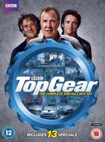 Top Gear - The Complete Specials Box Set DVD Box Set R4 New Sealed
