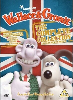 Wallace & Gromit The Complete Collection DVD Box Set Nick Park New & Sealed