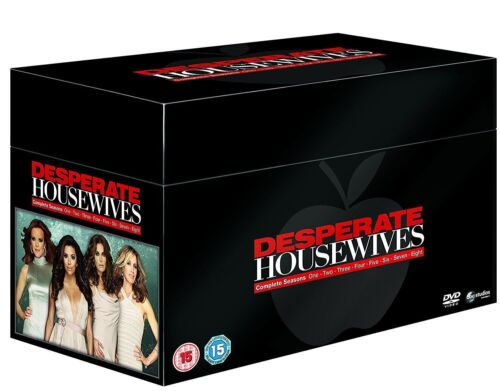 DESPERATE HOUSEWIVES COMPLETE SEASON SERIES 1 2 3 4 5 6 7 & 8 DVD BOX SET