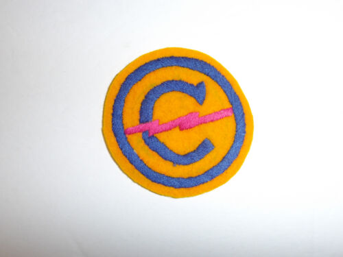 b2956 Post WW 2 US Army Constabulary patch Occupied Germany hand embroidered R8D