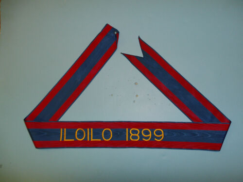 116 US Army  Streamer  Philippine Insurrection Iloilo 1899Reproductions - 156386