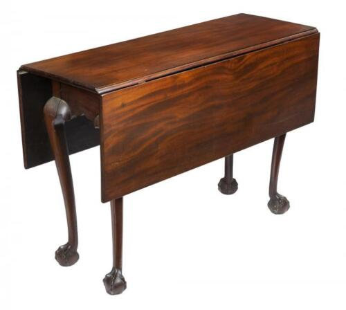 SWC-Chippendale Claw & Ball Drop Leaf Table, North Shore, c.1780