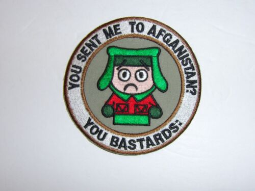 a0223 You sent me to Afghanistan patch War on Terror IR18AReproductions - 156452
