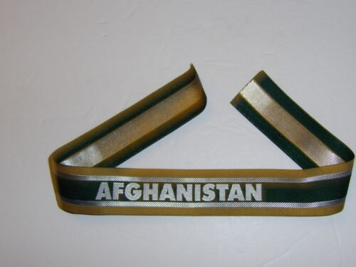 b3158  Afghanistan woven cuff title US Special Operations Forces SF DAK IR18AReproductions - 156452
