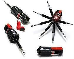 8 in 1 Multi Screwdriver Toolkit LED Torch flashlight screw driver <br/> Paypal Accepted✔Same Business Day*Dispatch✔Powerseller✔