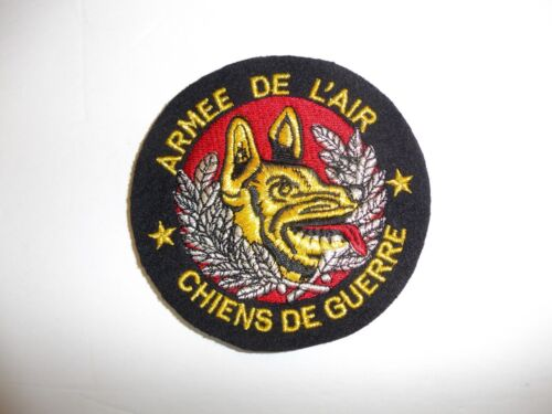b3727 French Air Force Armee De L'Air Chiens De Guerre Dog of War 1980-90s IR3BReproductions - 156452