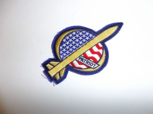 b4168 US Patriot missile patch Gulf War Desert Storm Shield IR18AReproductions - 156449