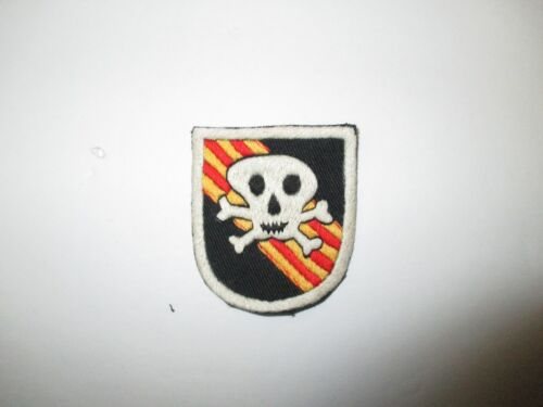 b3654 US Army Vietnam 5th SF Special Forces Beret Flash Large narrow skull IR38AReproductions - 156445