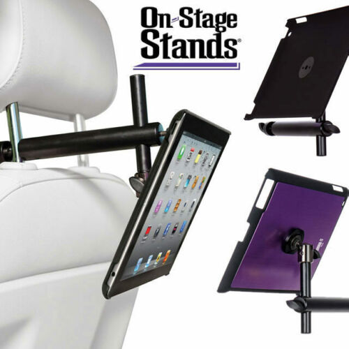 On Stage iPad Holder Snap-On Cover w/ Mounting Bar, Purple for ipad 2, 3 and 4