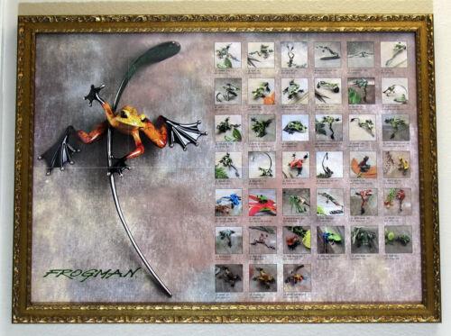 Tim Cotterill  Frogman  SOLD OUT & EXTREMELY RARE large print CUSTOM FRAMED mint